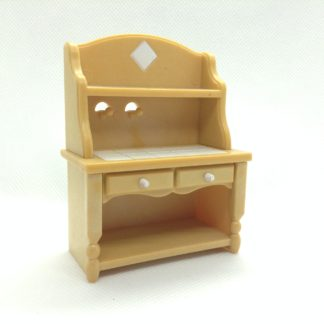 Sylvanian Families Kitchen Cabinet With Drawers