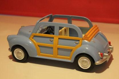 Sylvanian Families Blue Morris Minor Car